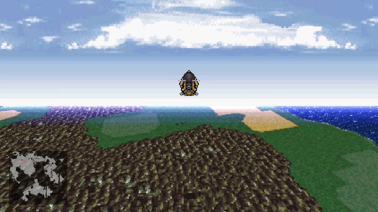 How I Wasted My Weekend: FF6 Airship in GameMaker Studio - YouTube