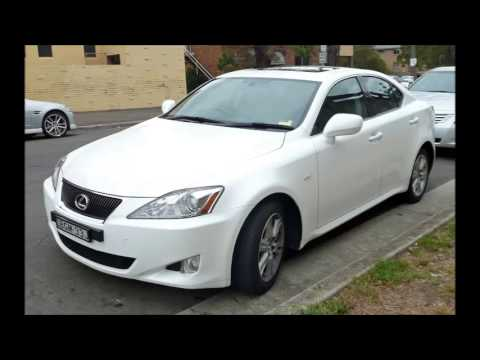 2005 Lexus IS250 European Version