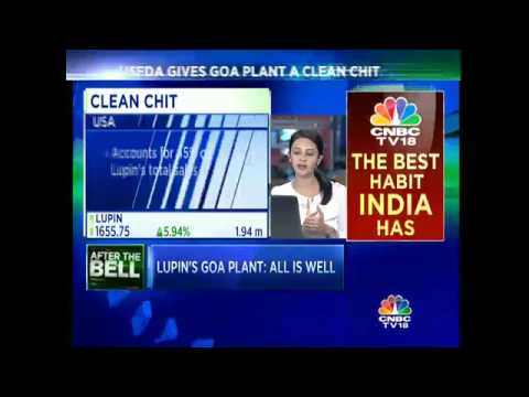 USFDA Gives A Clean Chit To Lupin's Goa Plant