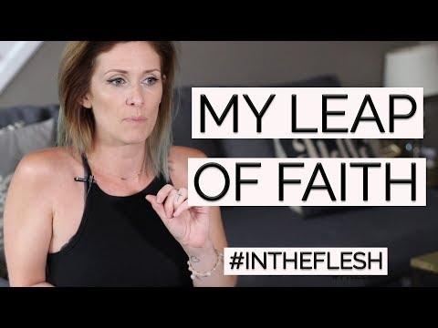 #InTheFlesh | My Leap Of Faith + Big Reveal!