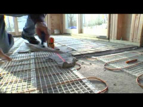Thermosoft Radiant Floor Heating On Diy
