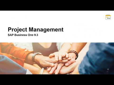 SAP Business One 9.3 New Features - Project Management