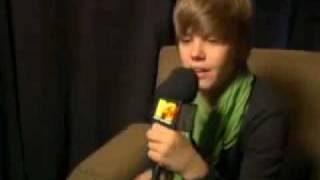 Justin Bieber talks about his fans