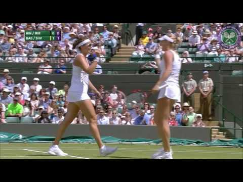 2016, Day 9 Highlights, Martina Hingis and Sania Mirza vs Timea Babos and Yaroslava Shvedova