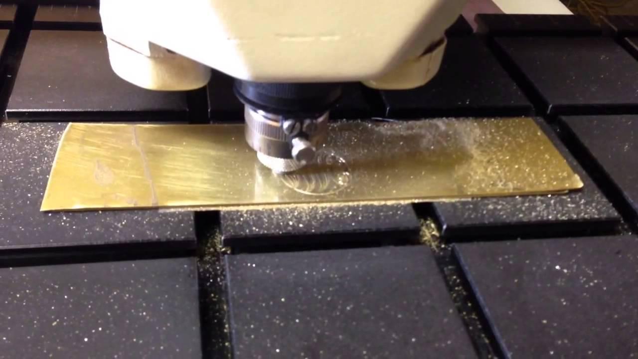 jewelry name plate cutting machine