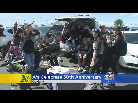A's Fans Celebrate 50th Anniversary Of Playing At Coliseum With Free Game