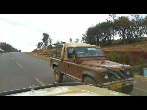 Drive SE on B144 toward Lake Manyara Airport, Tanzania, 2016-09-13