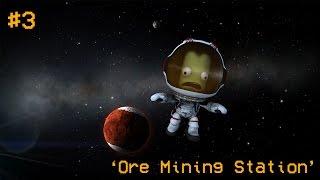 "Moon Colonization #3 ""Ore Mining"" (Kerbal Space Program)"
