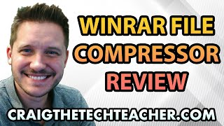 WinRAR Review To Compress Or Extract ZIP, RAR, ISO And 7z Files