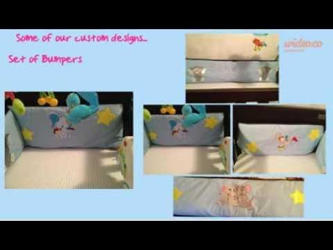 Moonlight Cotton - Custom Baby Bedding