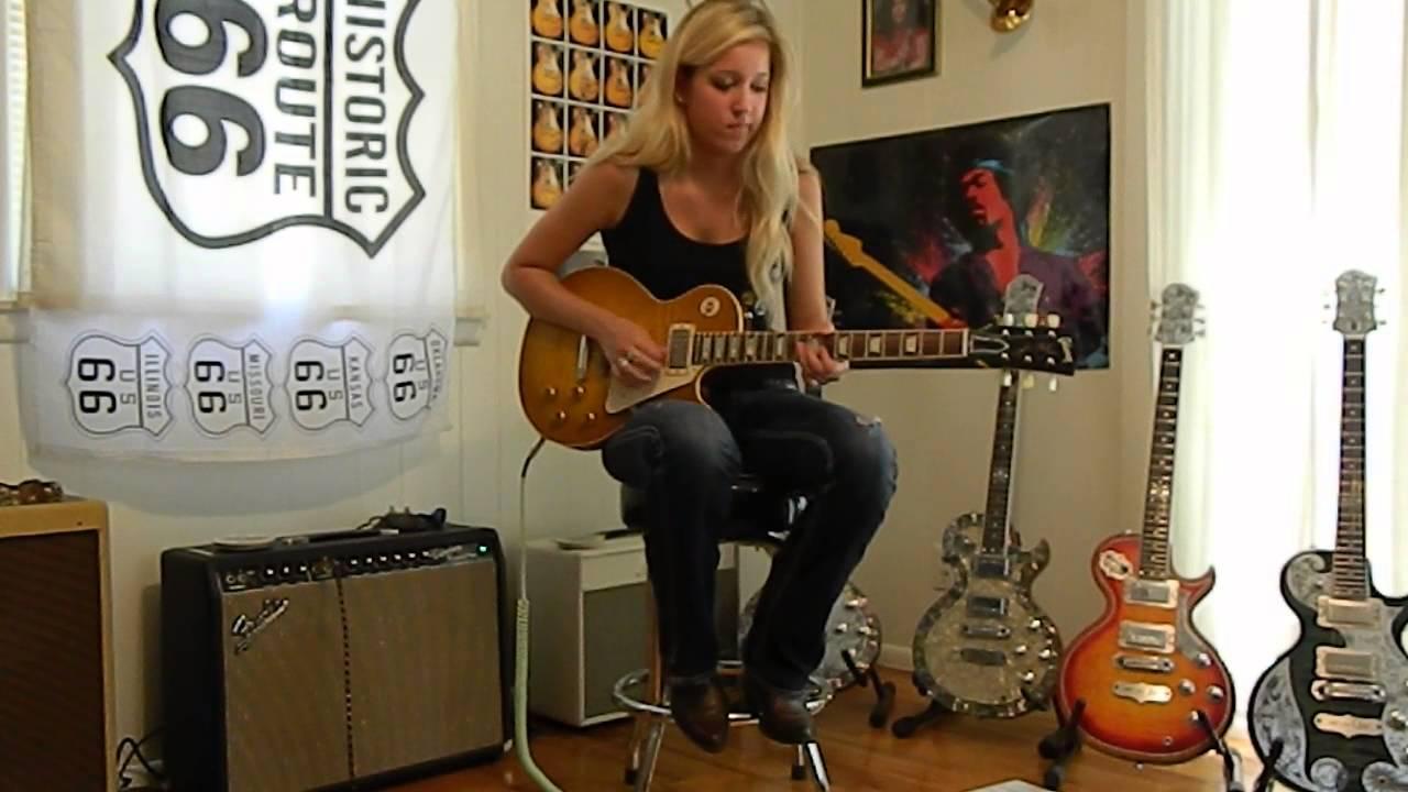 Gibson Custom Les Paul Reissue Lemonburst VOS YouTube - Route 66 youtube