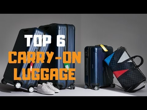 Best Carry-On Luggage In 2019 - Top 6 Carry-On Luggage Review