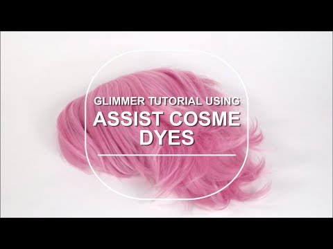 Glimmer from She-Ra Using Assist Cosme Wig Dye