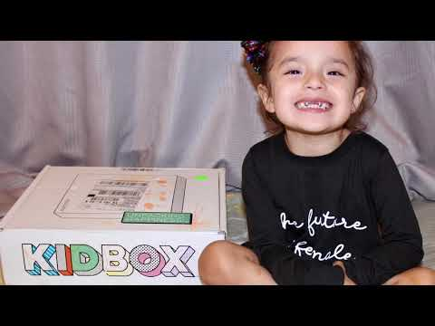 Kidbox spring 2018 unboxing & review