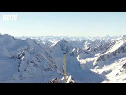 Natáčení RC Modelu Na Vrcholku Ledovce