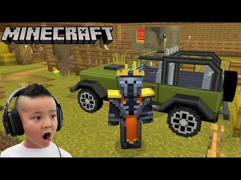 Wildlife Savanna Minecraft Fun Gameplay With CKN Gaming