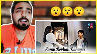 Indian reaction on SARWENDAH dan BETRAND PETO PUTRA ONSU - KAMU BERHAK BAHAGIA (OFFICIAL MUSIC VIDEO