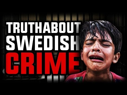 Statistics about crime in Sweden