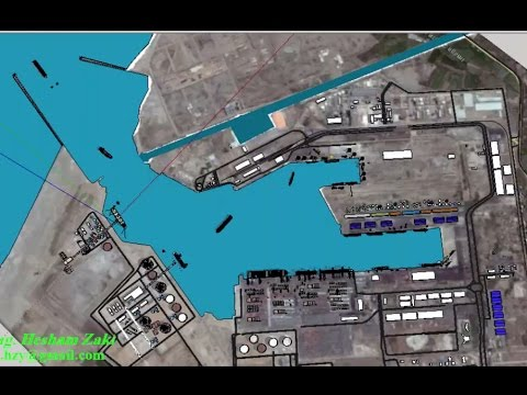Damietta Port Animation Movie