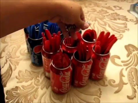 Recycle Ideas Silverware Caddy Youtube