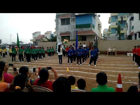 Pune International School March Past Republic Day 26 01 15