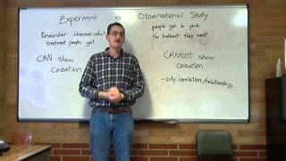 Experiment vs Observational Study