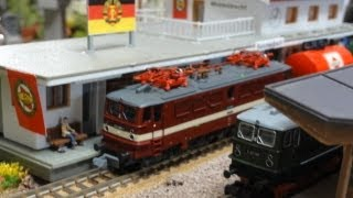 Modellbahn DR 東独の列車達 Nゲージ動画 Deutsch Reichsbahn ドイツ国営鉄道