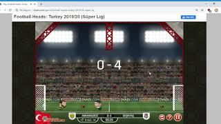 Football Heads Süper Lig 2019 20