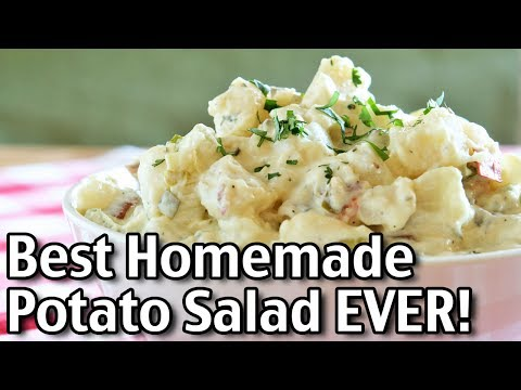 The Best EVER Homemade Potato Salad Recipe!