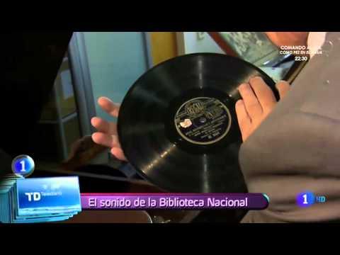 Tesoros sonoros - Biblioteca Nacional - España
