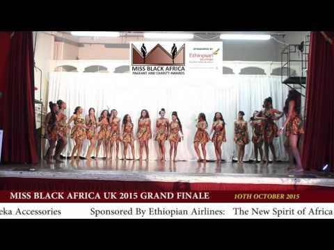 Miss Black Africa UK 2015 Opening Dance