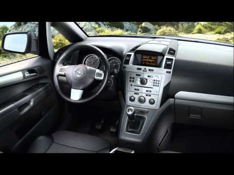 Opel Zafira Interior Youtube