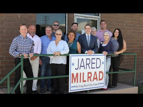 """""""Change""""   Jared Milrad for Long Beach City Council District 7"""