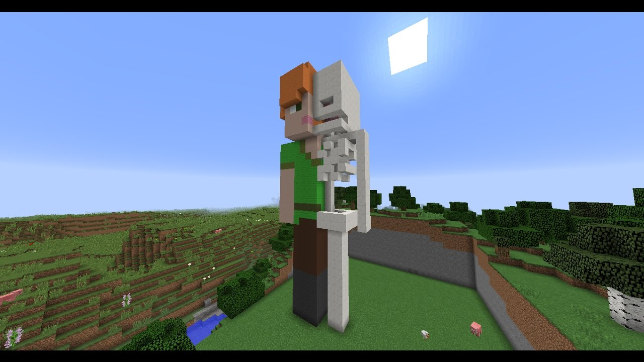 Minecraft Alex Skin Anatomy  Ep:9 Creative Craziness - YouTube