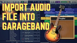Garageband Import Audio File Mac OSx (And Where to Get FREE Loops)