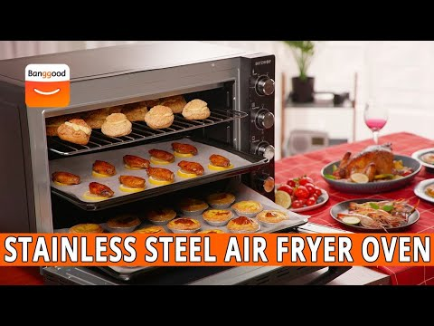 BlitzWolf BW EO1 Air Fryer Toaster Oven at Banggood