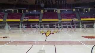 ASU Dance Team (TEAM USA) Jazz 2013