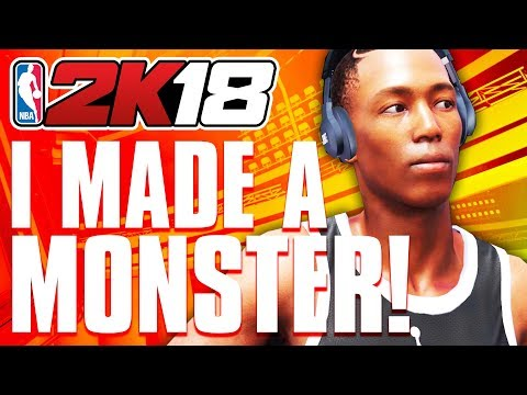 My MONSTER NBA2K18 Small Forward Build! (Overpowered NBA 2K18 SF Gameplay)