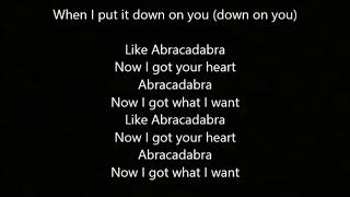 Abracadabra lyrics -Glenn Travis