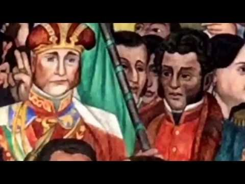 The History of Mexico City. Documentary based on Diego Rivera Mural in National Palace