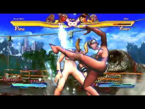 Street fighter x tekken nude mod
