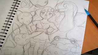Pokemon Speed Draw (Heartgold Team)