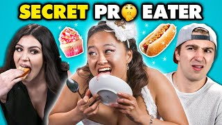 Download Competitive Eater DESTROYS Regular People   People vs. Food Mp3 and Videos