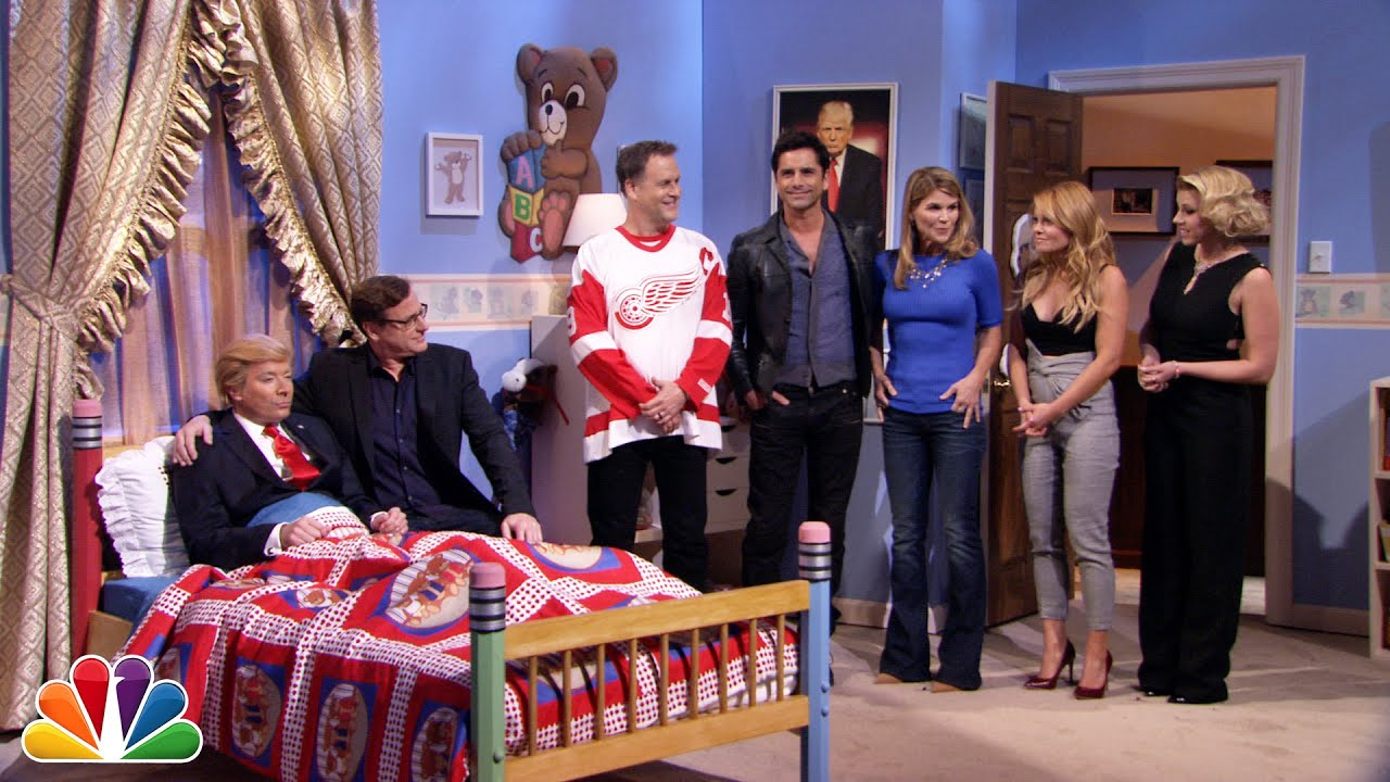 Fuller House Cast Has Heart to Heart with Donald Trump Jimmy