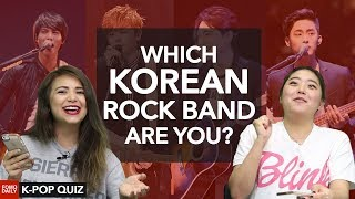 Which Korean rock band are you? • Fomo Daily's K-POP Quiz