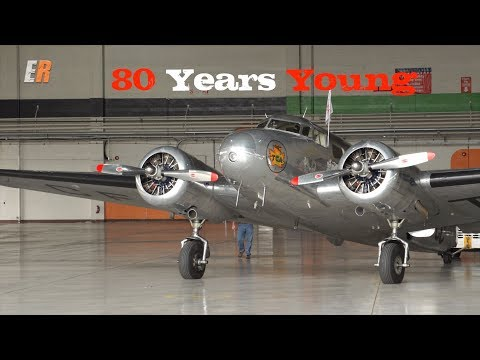 Air Canada Lockheed 10A Electra - I Ride in a Piece of History