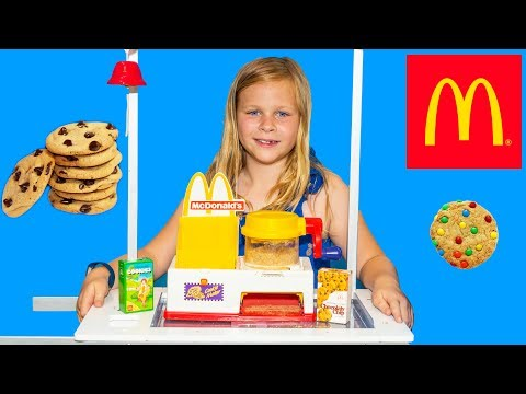 MCDONALDS Drive Thru Cookie Maker Assistant Makes Happy Meal Cookies