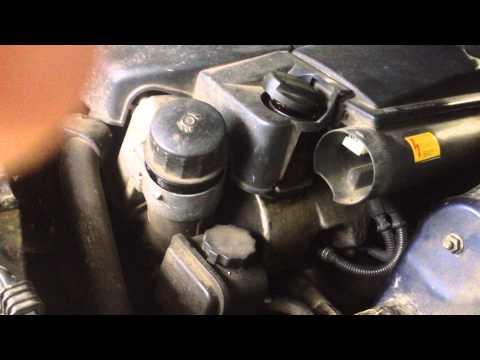 Меrcedes-benz (w220) замена масла в двигателе