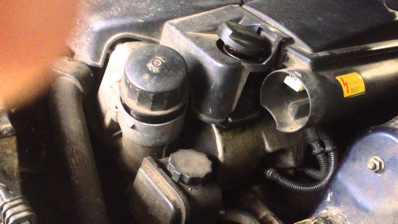 замена масла в двигателе мерседес g55