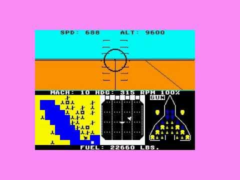 Amstrad CPC Longplay [215] F-15 Strike Eagle